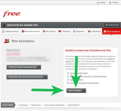 contacter le service client free en ligne par tchat