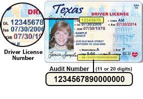 Audit Number New Texas License Download Free Wingrutracker