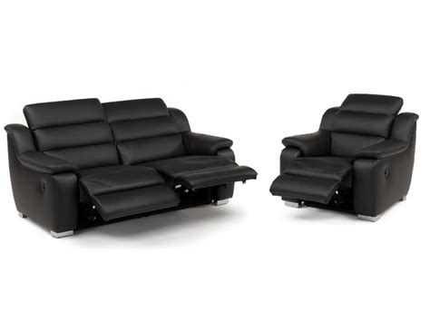 canape et fauteuil canapé et fauteuil relax électrique cuir arena