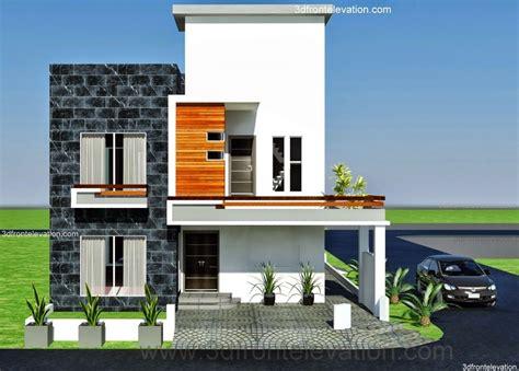 10 Marla ,modern Architecture House Plan-corner Plot