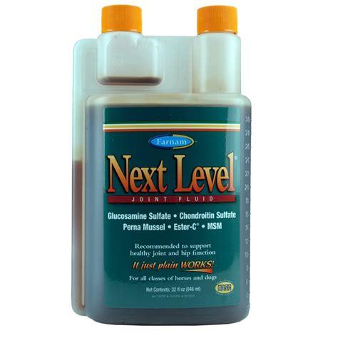 joint supplement level supplements fluid horses quart farnam oz horse
