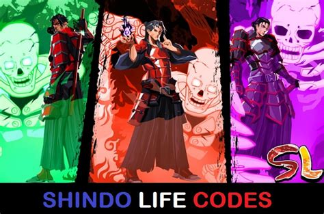 roblox shindo life codes  shinobi life  codes updated