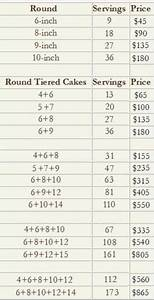 Cake Chart Party Servings Salt Cake City 39 S Servings Prices