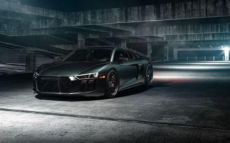 Audi R8 On Vossen Wheels Hd 5k Wallpapers