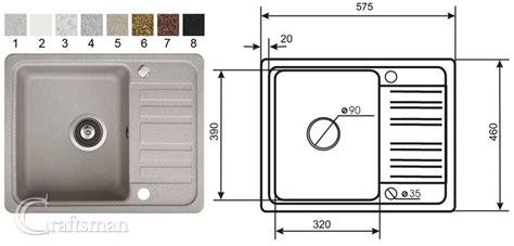 kitchen sink sizes uk composite granite kitchen sinks and taps craftsman ltd 5941