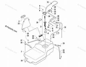 Arctic Cat Side By Side 2006 Oem Parts Diagram For Gas