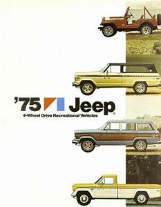 1975 Jeep Towing Guide Brochure