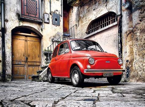 Fiat 500 Quality by Clementoni Fiat 500 High Quality Collection Puzzle 500