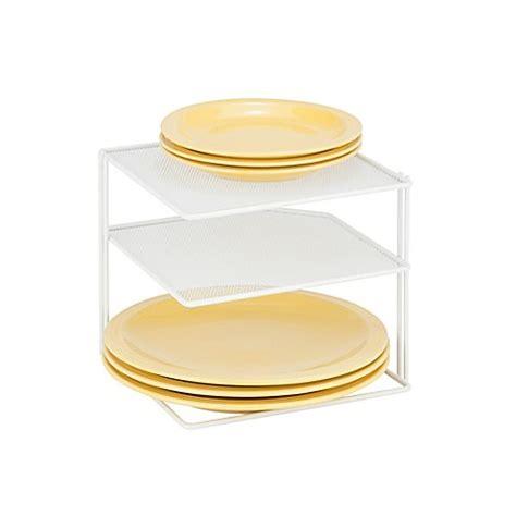 honey     corner shelf rack  mesh white bed bath
