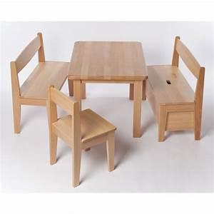 Kindertisch Und Stühle Holz : kindertisch holz buche massiv lackiert h he 53 cm tisch f r kinder wertprodukte ~ A.2002-acura-tl-radio.info Haus und Dekorationen