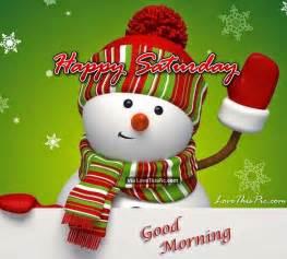 Cute Good Morning Happy Saturday