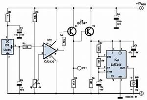 Overheat Detector Alarm Switch Circuit Diagram