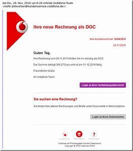 Vodafone Rechnung Email : b sartiger virus tarnt sich als vodafone rechnung mimikama ~ Themetempest.com Abrechnung