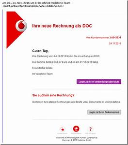 Rechnung Vodafone : b sartiger virus tarnt sich als vodafone rechnung mimikama ~ Themetempest.com Abrechnung