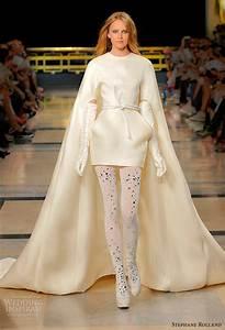 stephane rolland fall 2010 2011 couture wedding inspirasi With robe de soirée avec cape