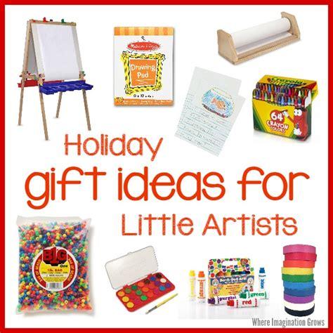 art supplies for kids gift ideas for little artists