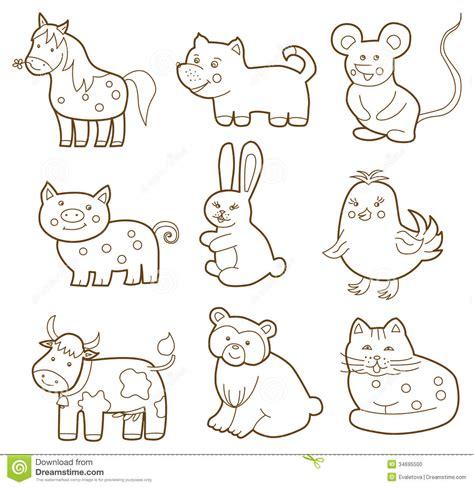vector animal stock vector illustration  farming