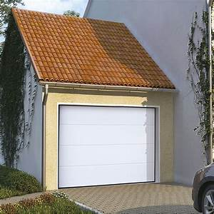 porte de garage sectionnelle avec portillon leroy merlin With montage porte garage sectionnelle leroy merlin