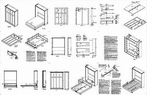 How To Build A Murphy Bed Free Plans With Regard Craftsman