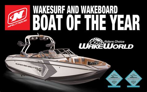 Wakeboard Boat Of The Year the nautique g23 wins wakeboard and wakesurf boat of the