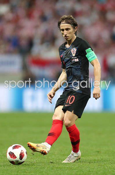 Luka Modric Croatia England World Cup Images