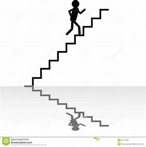 Running Up Stairs Clipart - ClipartXtras