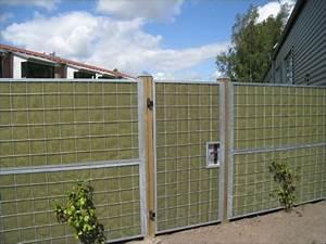 Porte Anti Bruit : cloture antibruit mur antibruit var jardinier ~ Edinachiropracticcenter.com Idées de Décoration