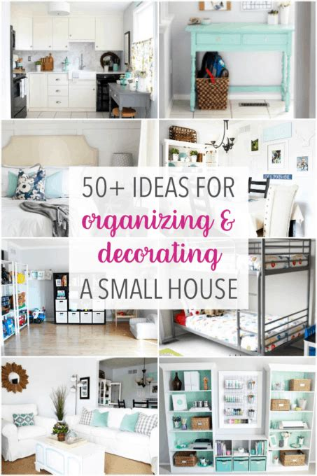 Diy Apartment Organizing Ideas by 50 Ideas For Organizing And Decorating A Small House