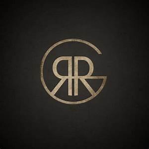 new logo based on my initials rrg wwwrobgadcom logos With initial logo