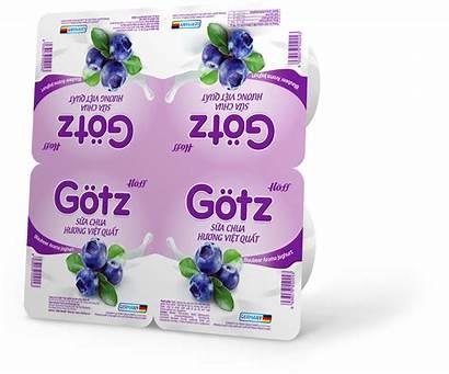 Yogurt Flavored Blueberry
