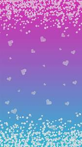 Pretty Blue Hearts Background | www.imgkid.com - The Image ...