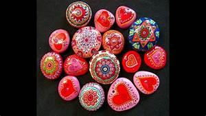 Steine Bemalen Glcksteine Rock Painting Stone Drawing