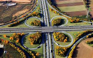 road, Intersections, Car, Landscape Wallpapers HD