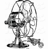 Fan Electric Drawing Vector Clipartmag sketch template