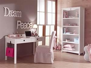 Bureau Ado Fille : bureau enfant fille chambre emile au style so romantique ~ Melissatoandfro.com Idées de Décoration