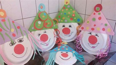 faschingsdeko basteln mit kindern faschingsdeko craft ideas faschingsdeko basteln
