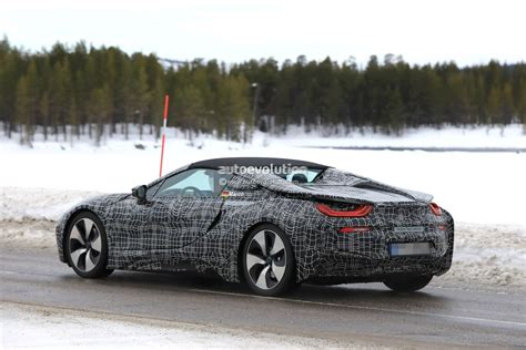 2019 Bmw I8 Spyder Spied, Getting Closer To Production