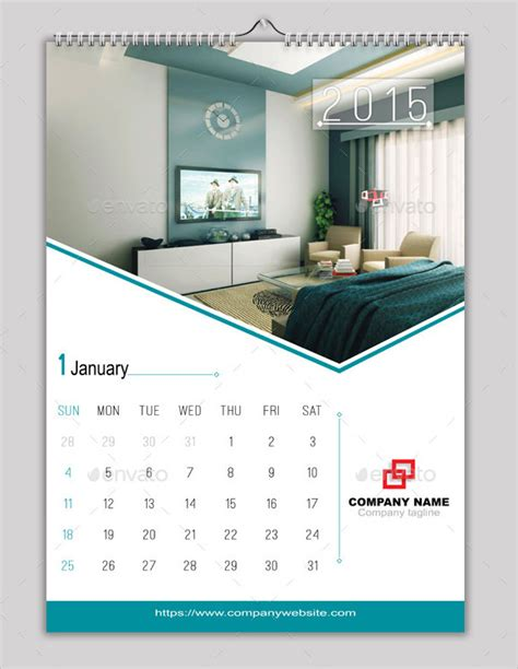 indesign calendars  design eps