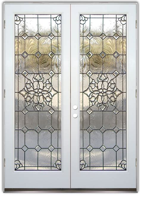 entry doors with glass etched glass entry doors sans soucie glass