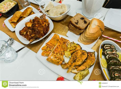 cuisine made in traditional home made food stock photo image