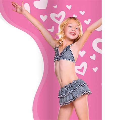 discount baby clothes hula black white gingham 2pc skirtini swimwear