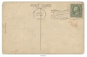 Retro Postcard Template | www.imgkid.com - The Image Kid ...