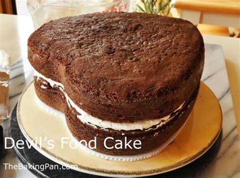devils food cake recipe thebakingpancom