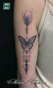 Tatouage Fleche Signification : tatouage fleche dos ~ Farleysfitness.com Idées de Décoration