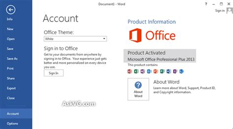 activate microsoft office 2007 2010 2013 2016 365