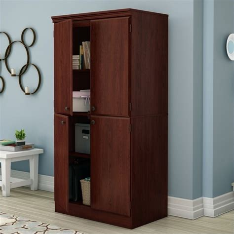 South Shore Storage Cabinet Royal Cherry by South Shore Storage Cabinet In Royal Cherry 7246971