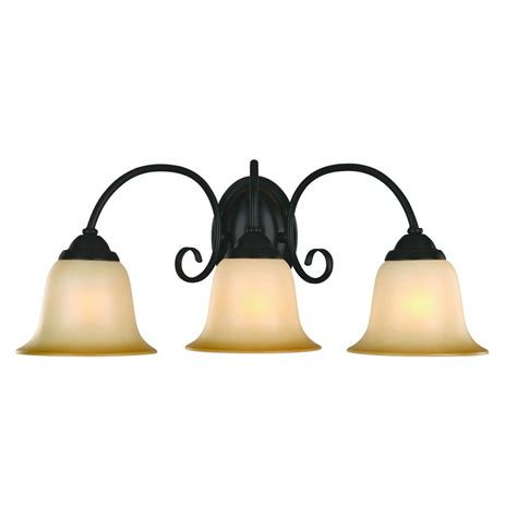 oil rubbed bronze  bulb bathroom light wall sconce