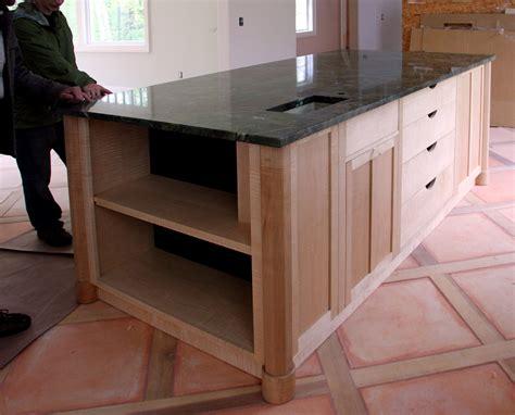 A Custom Kitchen Island  Finewoodworking