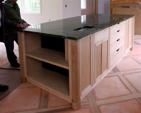 custom kitchen island finewoodworking