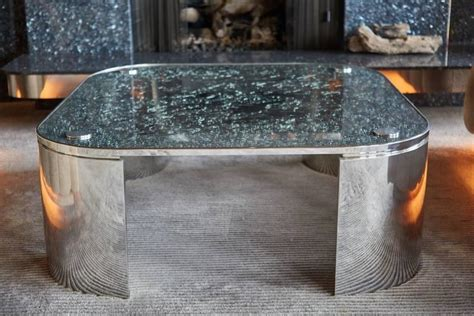 crackle glass table custom square crackle glass coffee table by steve 2978
